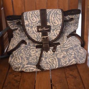 Wallflower backpack/purse